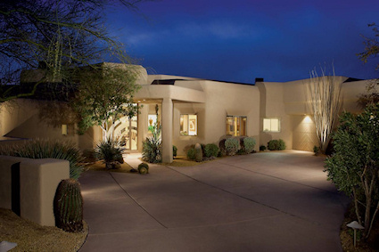 Scottsdale contemporary home