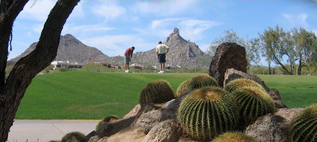 Troon Country Club Landscape
