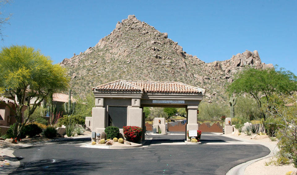 Whispering Ridge at Troon Village Homes in Troon Scottsdale